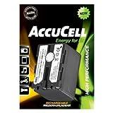 AccuCell Akku passend für Sony NP-FM70, CCD-TRV, DCR-DVD