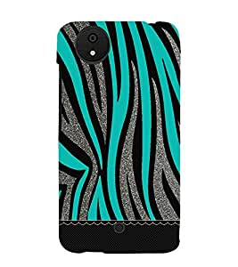 Bling Green Graphics 3D Hard Polycarbonate Designer Back Case Cover for Micromax Android A1 :: Micromax Canvas A1 AQ4502