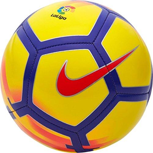 Mini Balón Fútbol Liga Santander Española 2017/18 Amarillo/Morado