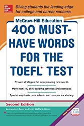 McGraw-Hill Education 400 Must-Have Words for the TOEFL, 2nd Edition by Lynn Stafford-Yilmaz (2014-01-07)