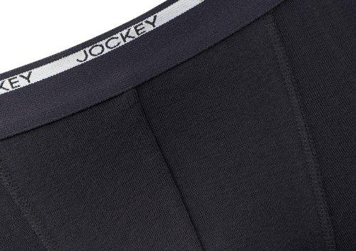 Jockey® Herren, Modern Classic Short Trunk 2er-Pack, 18502922 Schwarz / Schwarz