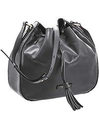 Amazon.it  secchiello - Nero   Borse a tracolla   Donna  Scarpe e borse 40f4299c87f