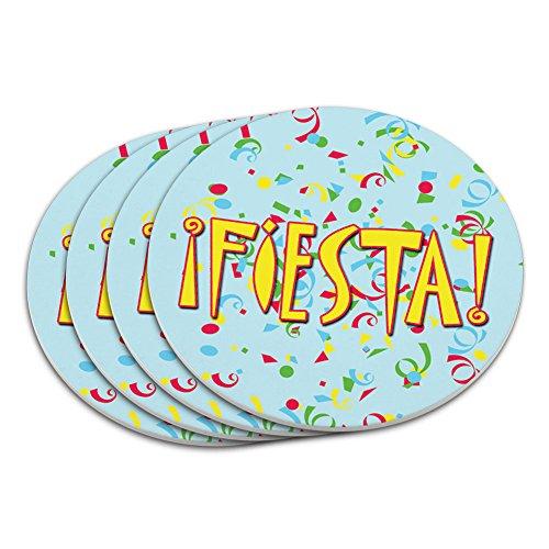 mexikanischen Untersetzer Set (Cinco De Mayo Getränke)