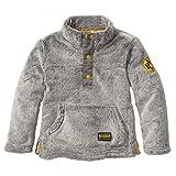 BVB Kinder Teddysweatshirt für Kleinkinder, grau, 74/80, 2466517