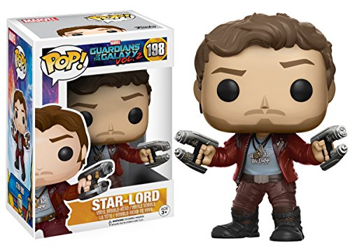 Funko - Star Lord figura de vinilo, colección de POP, seria Guardians of the Galaxy 2 (12784), 1 unidad, modelo surtido 2