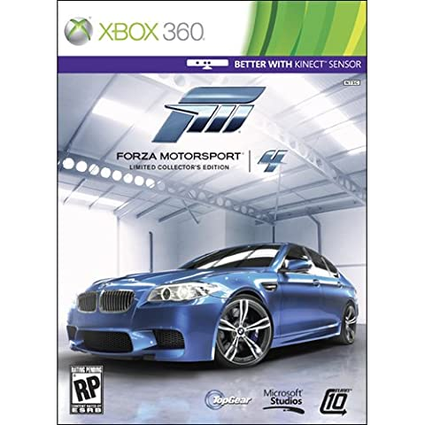 FORZA MOTORSPORT 4 Limited collector's edition US