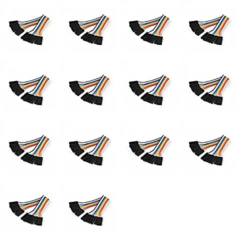 14 x Quantity of Walkera Runner 250 (R) Advanced GPS Quadcopter Drone (100mm) Super Clean RC Male to Male Ribbon Extensions Set(Servo Connector) - FAST FROM Orlando, Florida USA!