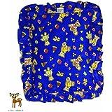 Little Monster Mustard Seed Pillow/Baby Rai Pillow Cotton (Blue)