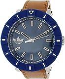 adidas adh3000 - Reloj , correa de cuero color marrón