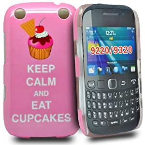 Accessory Master Coque pour BlackBerry Curve 9320 'Keep calm and eat Cupcakes Rose