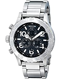 Nixon Herren-Armbanduhr Chronograph Edelstahl A037000-00
