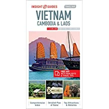 Insight Guides: Travel Map Vietnam, Cambodia and Laos (Insight Travel Maps)