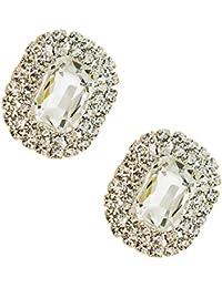 Tooky - Juego de dos broches de gemas y cristales para zapatos dbd555e34ec