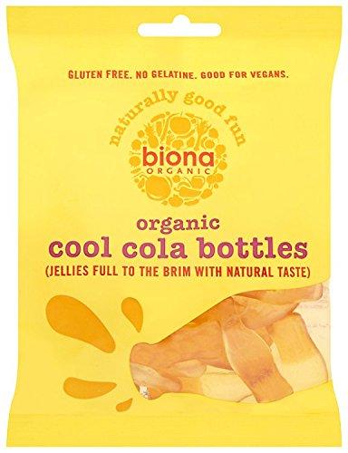 Biona Bonbons Bouteilles de Coca Bio 75 g - Lot de 5