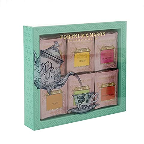 FORTNUM & MASON - Fruit-Flavoured Tea Bag Selection - 60 sachets