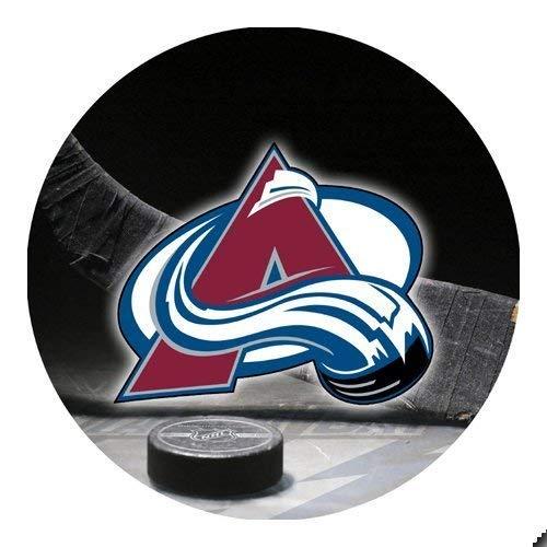 Olivia Herty Lawinen-Hockey rundes Mousepad Mousepad Große Geschenk-Idee Colorado