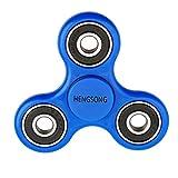 HENGSONG Fidget Toys Hand Spinner Finger Spielzeug für Kinder und Erwachsene Spielzeug Geschenke (Blau)
