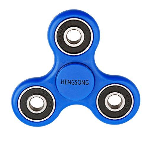 *HENGSONG Fidget Toys Hand Spinner Finger Spielzeug für Kinder und Erwachsene Spielzeug Geschenke (Blau)*