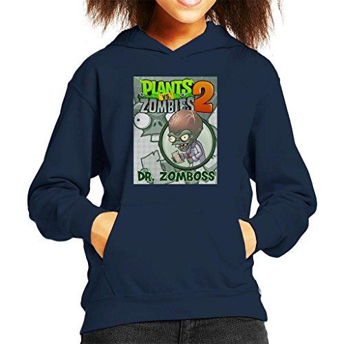 Cloud City 7 Plants Vs Zombies Dr Zomboss Kid's Hooded ()