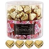 150 goldene Schokolade Herzen London
