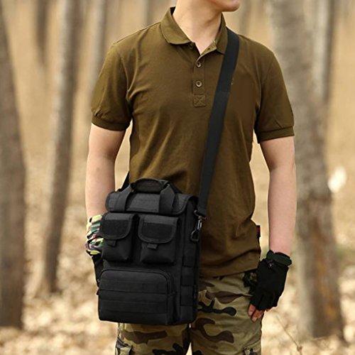 Sharplace Campeggio Escursionismo Borsa a Tracolla, per Lavoro, Scuola, Viaggi, Sport Messenger Bag - #03 #05