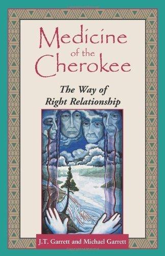 Medicine of the Cherokee: The Way of Right Relationship (Folk wisdom series) by Garrett, Michael Tlanusta, Garrett, J. T. (1996) Paperback