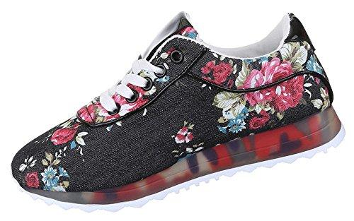 Aktuelle Damen Freizeitschuhe Schuhe Sneaker Turnschuh Sportschuh 4010 Beige 37