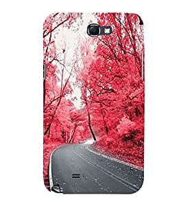 Wonderful Nature 3D Hard Polycarbonate Designer Back Case Cover for Samsung Galaxy Note 2 :: Samsung Galaxy Note II N7100