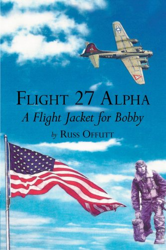 Flight 27 Alpha: A Flight Jacket For Bobby Alpha Flight Jacket