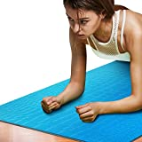 Meng Wei Shop Yoga Matten Sportmatten Frauen Rutschfeste Yoga-Decken Geruchlose Fitnessmatten Yogamatten (Size : 180*65*0.6cm)
