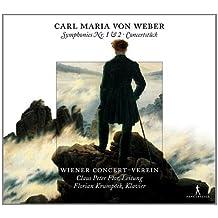 Weber: Sinfonias Nos. 1-2; Estudio De Concierto Para Piano Y Orquesta