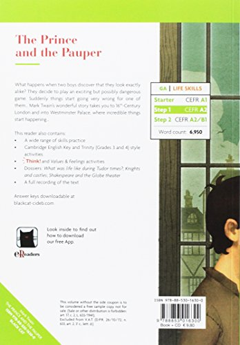 The prince and the pauper. Con App. Con CD-Audio (Green Apple - Life Skills)