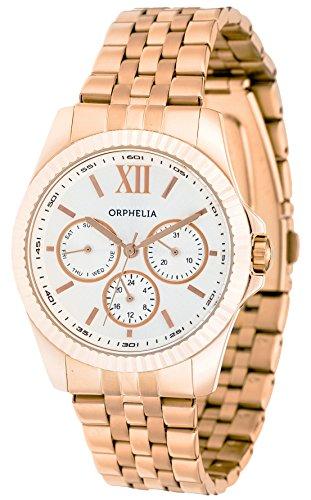 Unisex-reloj analógico de cuarzo Orphelia acero inoxidable OR53471387