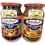 Ralli Singh Mixed Fruit & Ripe Mango Jam (Pack Of 2) - 1000 Gm