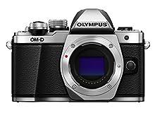 Olympus E-M10 Mark II Solo Corpo Argento