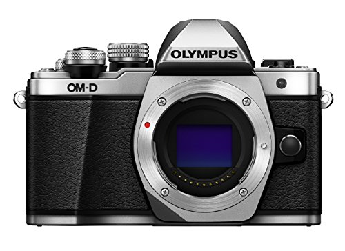 "Olympus E-M10 Mark-II - Cámara EVIL de 16.1 Mp (pantalla 3"", estabilizador óptico, vídeo Full HD, WiFi), color plata - Solo cuerpo"