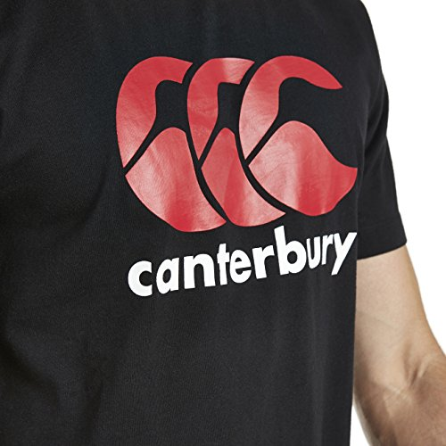 Canterbury Herren Bekleidung CCC Logo T Shirt Black
