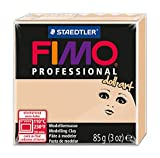 Staedtler 8027-45 - - Fimo Professional Doll Art Normalblock, 85 g, sand