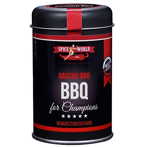 Spiceworld Barbecue for Champions GAUCHO BBQ (110g) (Rub Cowboy-steak)