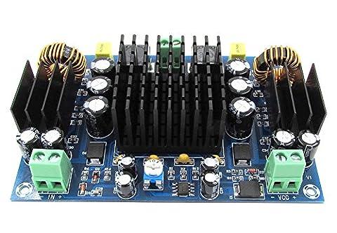 Kissing U 150W TPA3116D2 Mono High Power Audio Stéréo Amplificateur Numérique Conseil DC12-24V Alimentation pour Double Boost Système Amplificateurs Module AMP Control Board pour Home Cinéma et Audio DIY