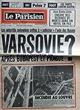 Best Hôtels à Budapest - PARISIEN LIBERE (LE) [No 11262] du 15/12/1980 Review