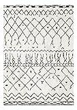 Decoweb Tapis Motif Berbère Dharan (Clair, 140 x 200 cm)