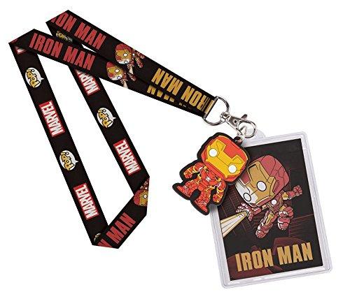 Preisvergleich Produktbild Marvel Comics - Schlüsselband Keychain - Mit Anhänger - Iron Man