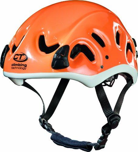 Climbing technology mizar casco da arrampicata e cascata, arancione