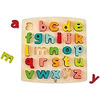 Hape - Puzzle Alphabet Minuscules, E1552, Beige