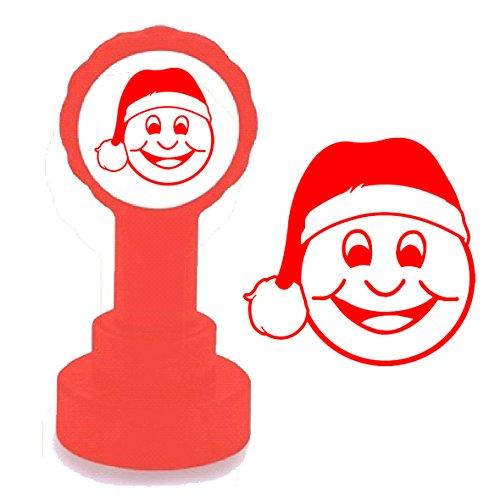 Smiley Mütze Weihnachten-Stempel Lehrer-Weihnachten -