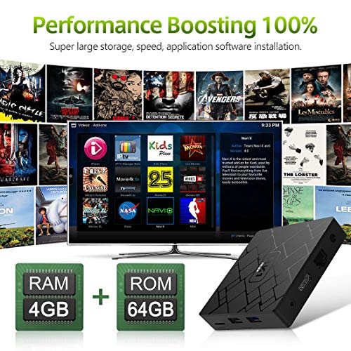 Zoom IMG-2 android 9 0 tv box