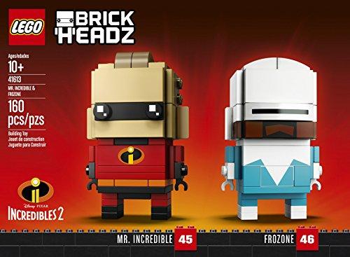Incredibles Kostüm Charaktere - LEGO Brickheadz 41613 Mr. Incredible und Frozone