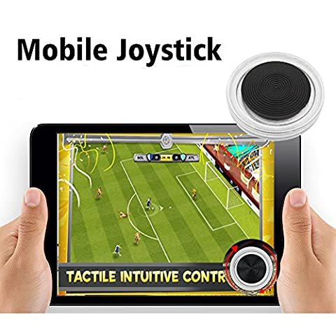 Spiel Joystick, Mobile Phone Game Controlle Game Rocker r Touch Screen Joypad Tablet Funny Compatible for All Touch Screen Devicestemperament fashion (Zwei)
