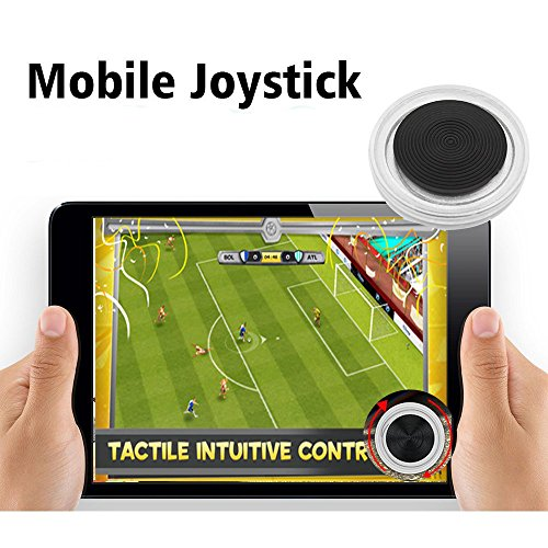 Spiel Joystick, Mobile Phone Game Controlle Game Rocker r Touch Screen Joypad Tablet Funny Compatible for All Touch Screen Devicestemperament fashion (Halloween Videos Lego)